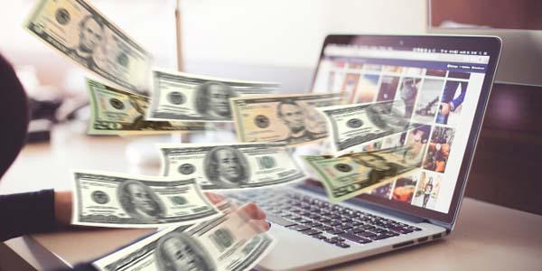 Bani online de acasă