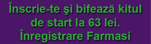 Înscriere Farmasi România